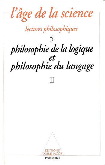 Philosophy of Logic and Philosophy of Language (2)
