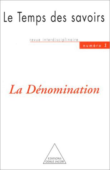 Dénomination (La) - N° 1