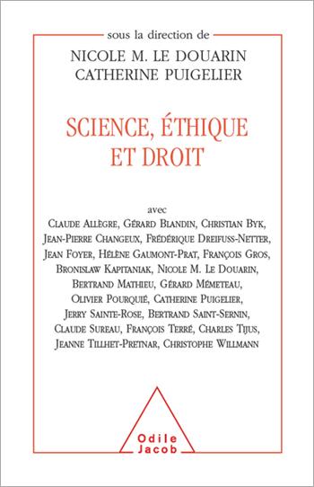 Science, éthique et droit